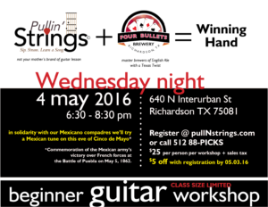 Pullin Strings Promo May16